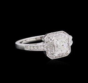 1.05ctw Diamond Unity Ring - 14kt White Gold