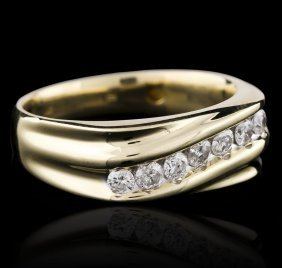 14kt Yellow Gold 0.75ctw Diamond Ring