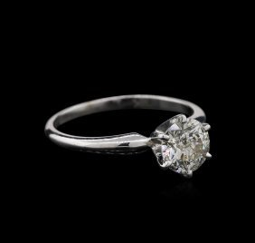 1.02ct Diamond Ring - 14kt White Gold