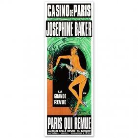 Casino De Paris Josephine Baker By Re Society