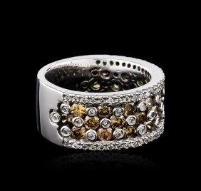 14kt White Gold 0.91ctw Diamond Ring