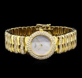 Chopard 18kt Yellow Gold 5.00ctw Diamond Ladies Watch
