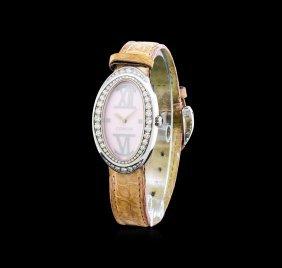 Corum Stainless Steel 1.00ctw Diamond Ladies Watch