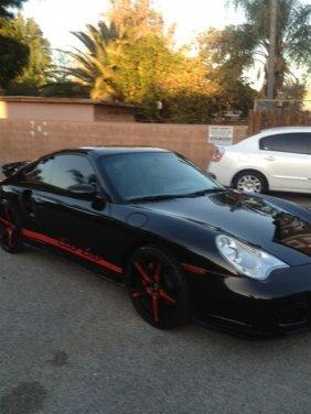2001 Porsche Turbo Coupe - Metallic Black