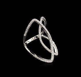 0.47ctw Diamond Ring - 14kt White Gold