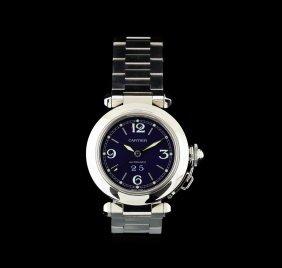 Cartier Stainless Steel Pasha De Cartier Ladies Watch