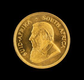 1982 South Africa 1oz Krugerrand Gold Coin
