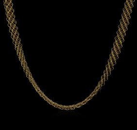 Tiffany & Co. 18kt Yellow Gold Chain Necklace