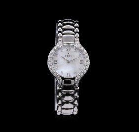 Ebel Stainless Steel Diamond Beluga Ladies Watch