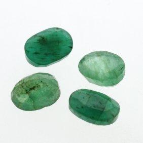 5.14cts. Oval Cut Natural Emerald Parcel