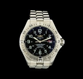 Breitling Stainless Steel Superocean Men's Watch