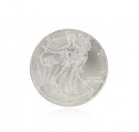 1999 American Silver Eagle Dollar Bu Coin