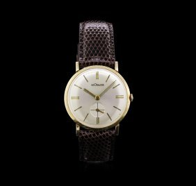 Le Coultre 14kt Yellow Gold Men's Vintage Watch