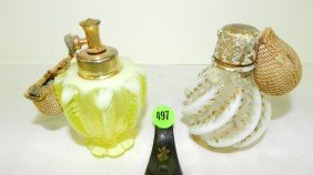 2 Piece Vintage Perfume Bottles