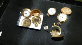 Wonderful Collection Of Antique Gold (plated) Poc