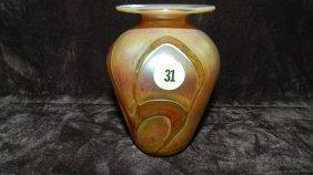 Nice Small Art Glass Vase