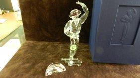Swarovski Crystal Magic Of Dance Antonio Figurine