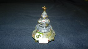 Great Stamped Swarovski Crystal Christmas Tree Fig