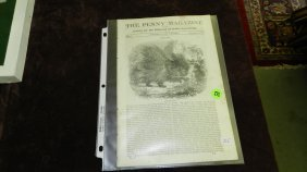 Early 19th Century Magazine From 1836