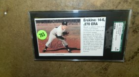 Authentic Signed Baseball Photo By Baseballs Great