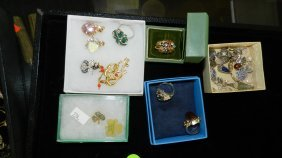 Nice Tray Of Estate Jewelry (no Tray)