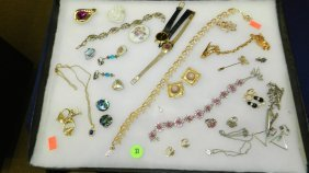 Collection Of Mid Century Jewelry No Tray