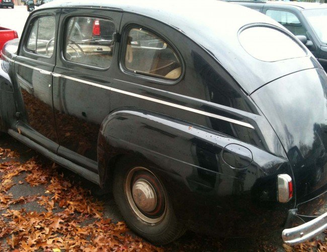 372 1941 ford super deluxe 4 door sedan lot 372 for 1941 ford 4 door