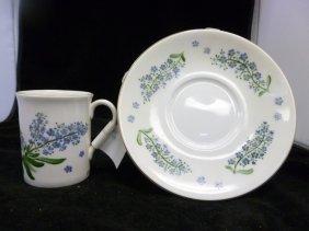 Floral Cup & Saucer Set