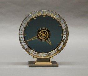 Art Deco Zodiac Clock