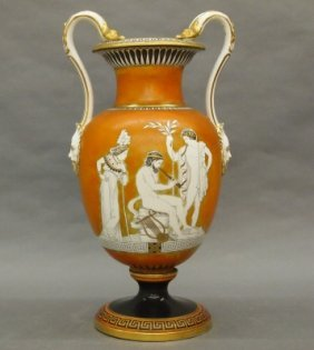 French Porcelain Vase