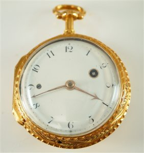 14k French 1/4 Hr Repeater Pocket Watch
