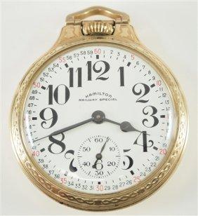 "Hamilton ""railway Special"" Pocket Watch"
