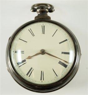 English Sterling Pocket Watch