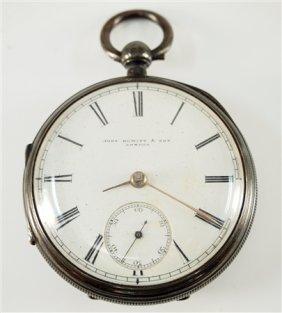 J. Hewitt, London Fusee Pocket Watch