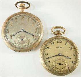 2 Gruen Pocket Watches
